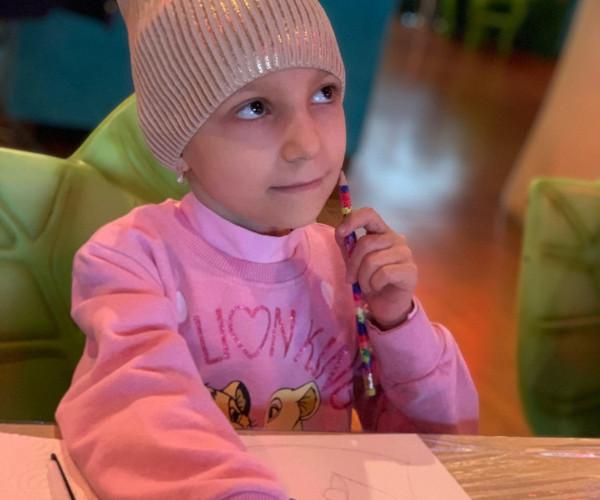 Дети с онкозаболеваниями погрузились в яркий мир творчества, искусства и красоты... Мир, в котором нет рака, боли и слез...1613148765