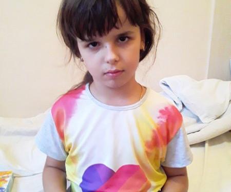 У Юленьки смертельное заболевание и  она очень хочет жить1628094912