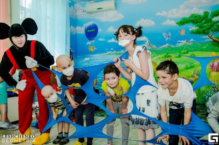 Открытие игровой комнаты в отделении детской онкогематологии