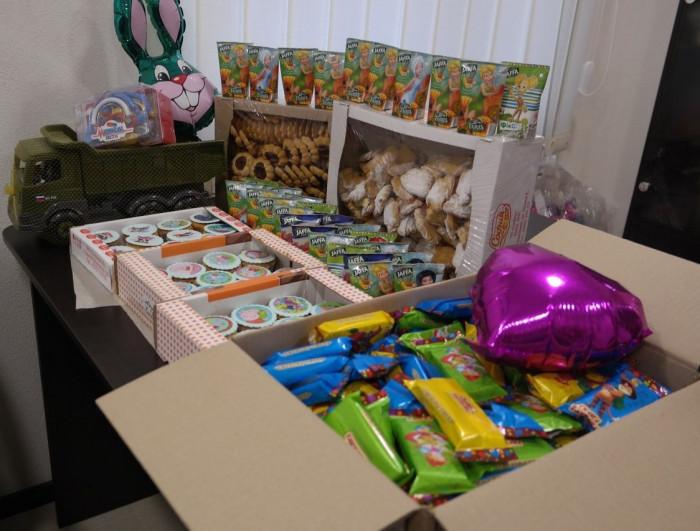 День рождения в Доме ребенка